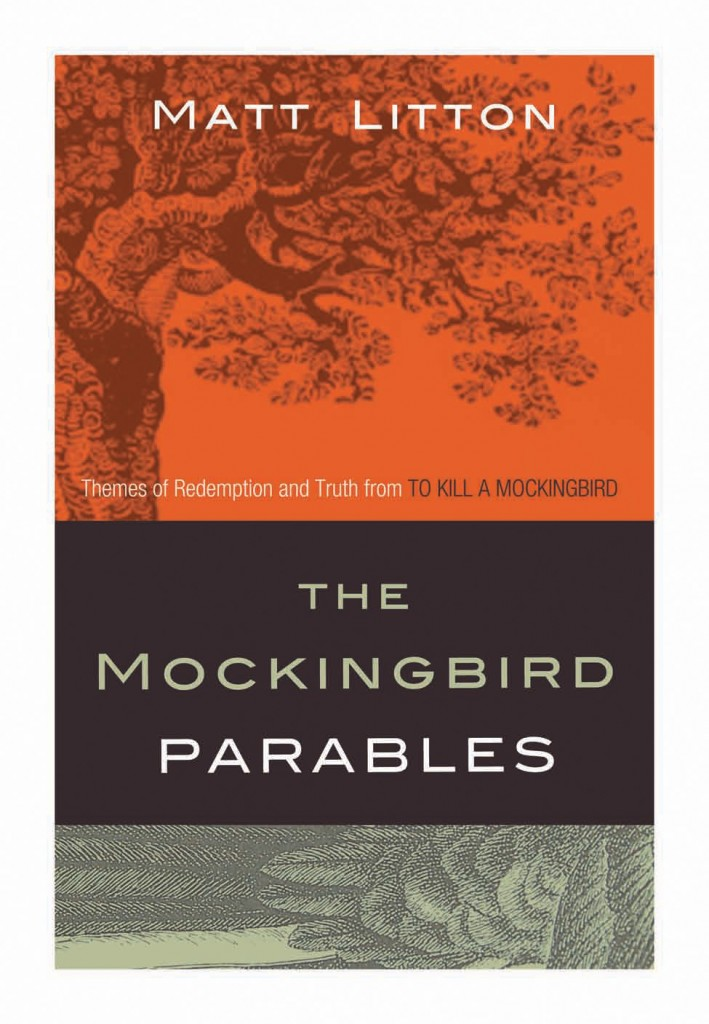 One of the early cover art options for The Mockingbird Parables